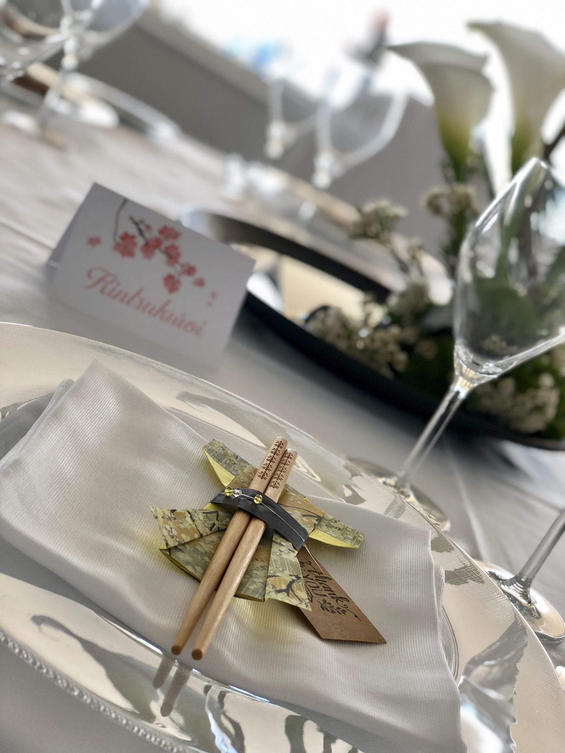 Allestimenti matrimonio Tema Giappone Garofalo Creazioni (2)