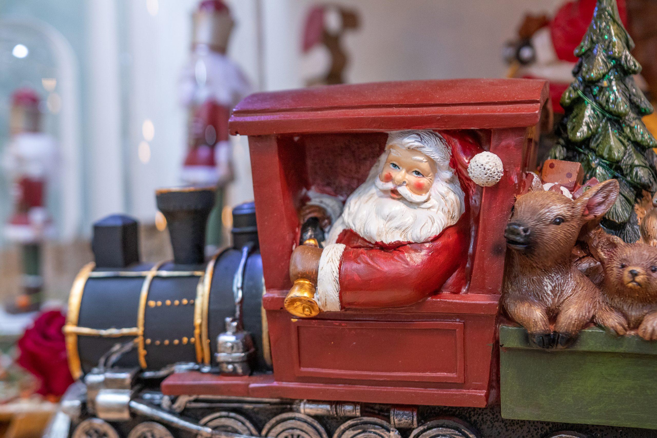 Santa Train Garofalo Creazioni