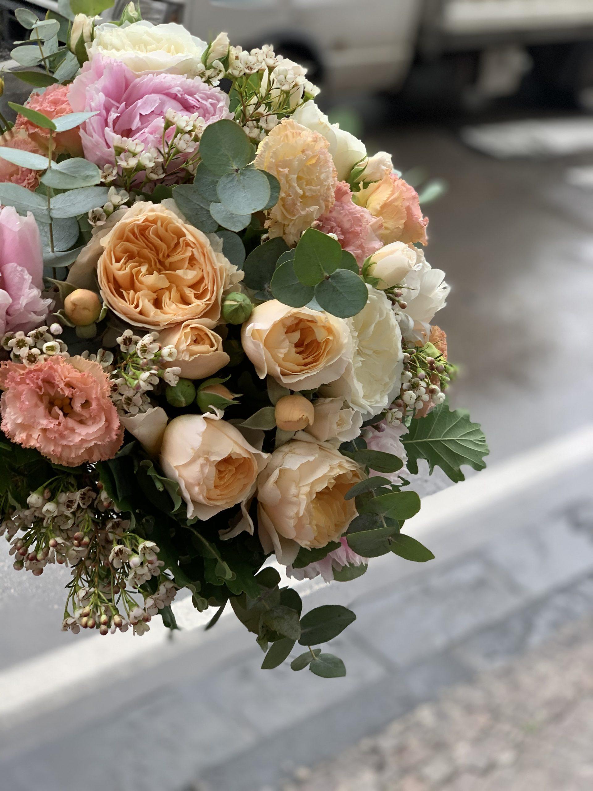 Bouquet Regalo Garofalo Creazioni arancio